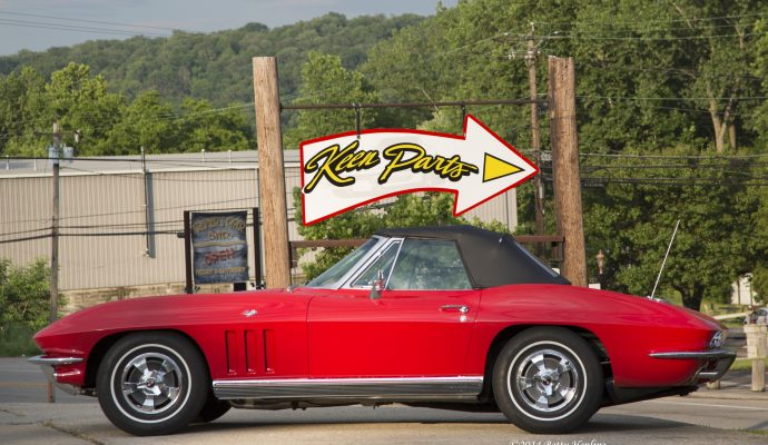 Keen Parts retail Corvette store