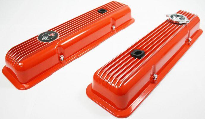 LT1 Valve Covers Factory Orange