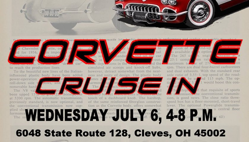 Keen Parts Corvette Cruise In and Open House