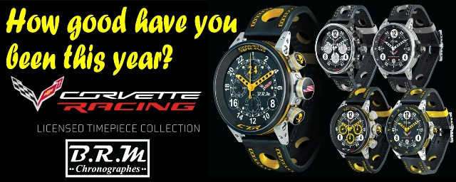 Corvette C7.R Watches for Christmas