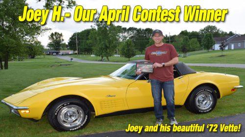 Keen Parts Corvette Trivia Winner