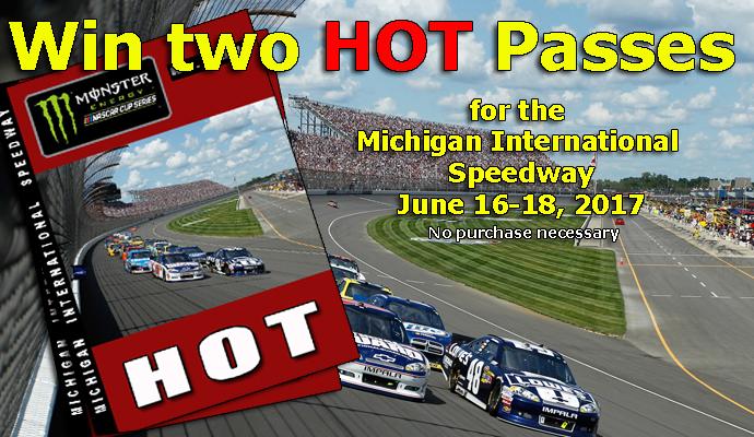 NASCAR Hot Pass Giveaway