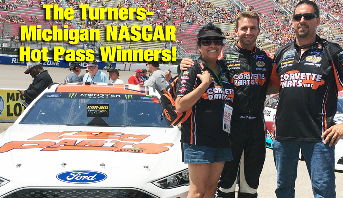 Turner Family Wins NASCAR Race Hot Passes