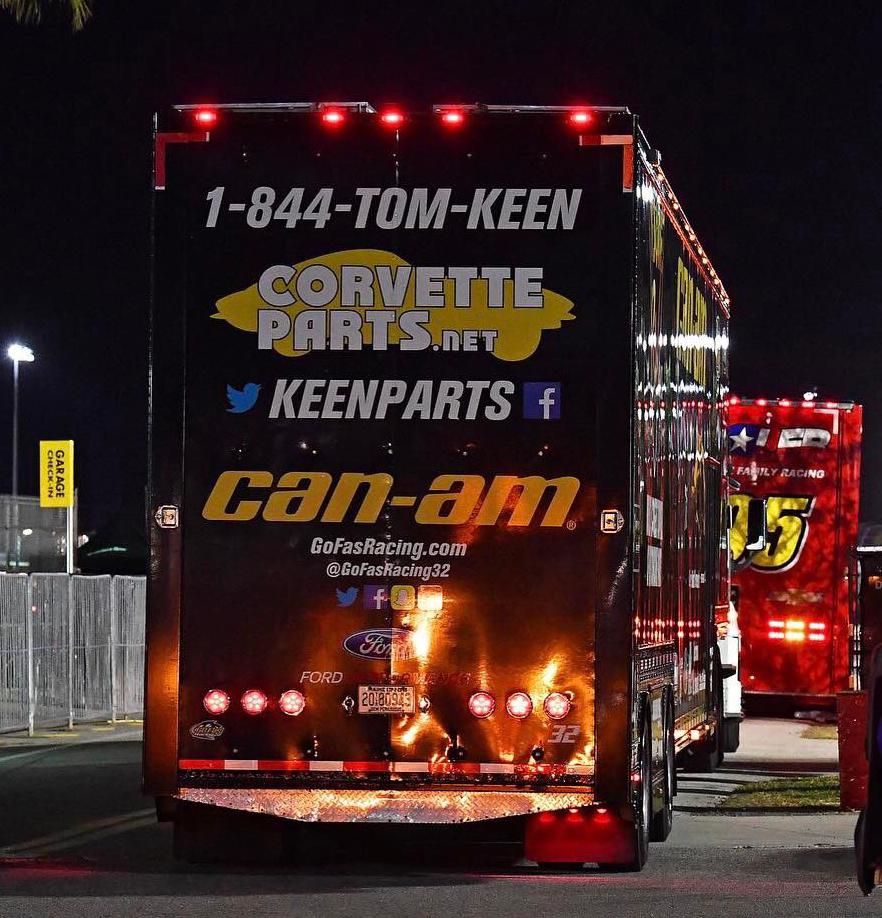 Keen Parts NASCAR semi