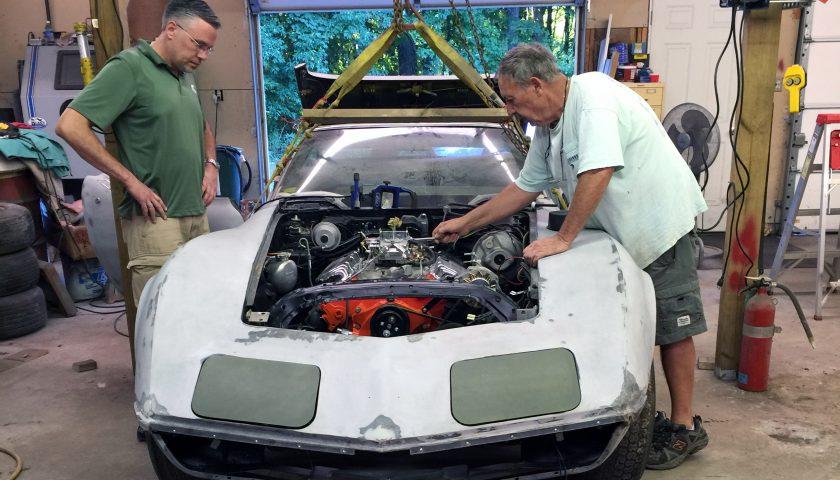 Restoring a 2,200 mile Corvette? Call Keen Parts!