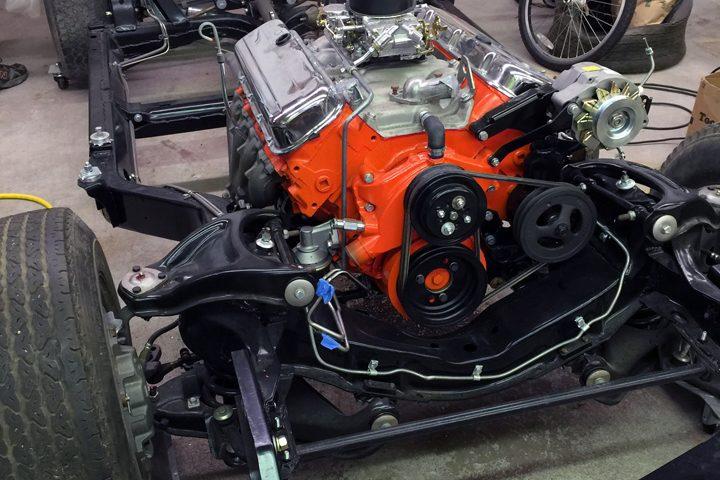 VERY detailed Corvette engine