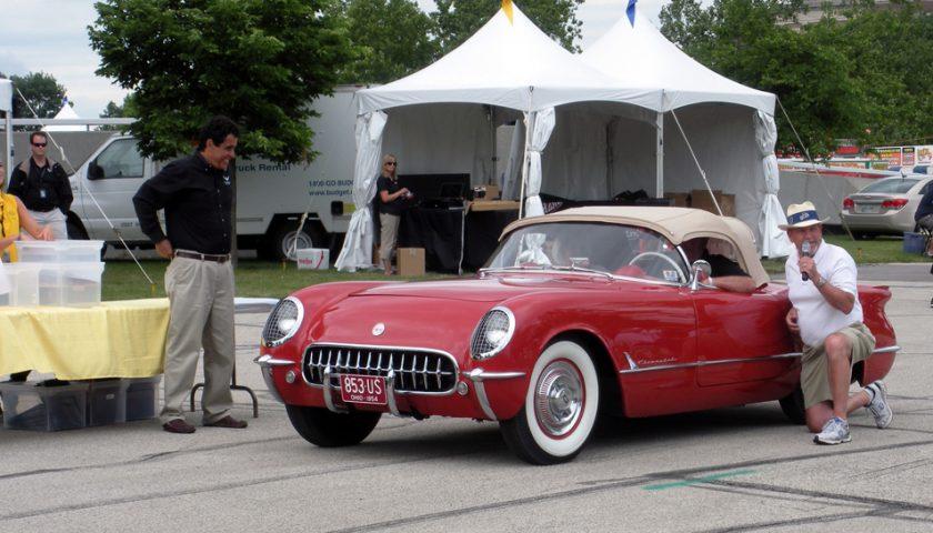 Bloomington Corvette awards