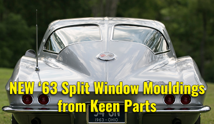 NOW AVAILABLE! 1963 Split Window Corvette Coupe Mouldings-from Keen Parts