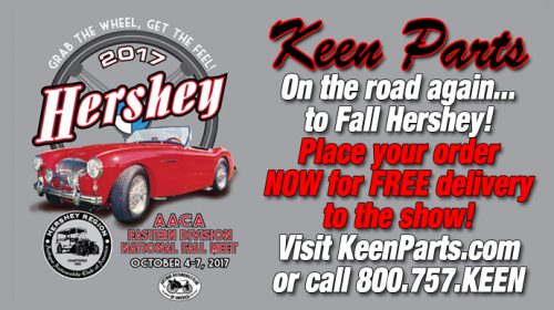 Keen Parts Corvette Visits Fall Hershey Meet