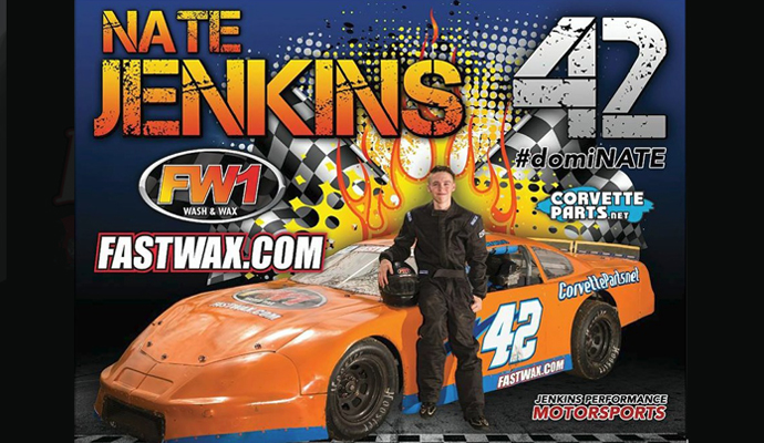 Corvetteparts.net sponsors Nate Jenkins