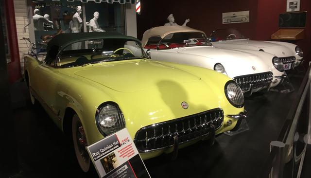 1955 at National Corvette Museum