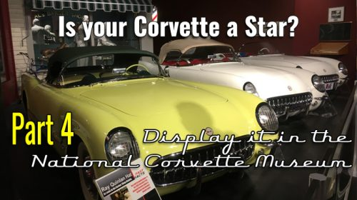 Your Corvette History Part 4- Is your Corvette a STAR?