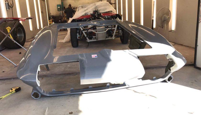 Keen Parts Corvette Front Clip