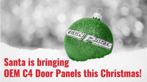 NOS OEM C4 Corvette Door Panels Stash Found! Santa arrives early!