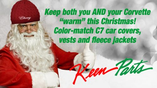 Keep both you and your Corvette warm this winter!