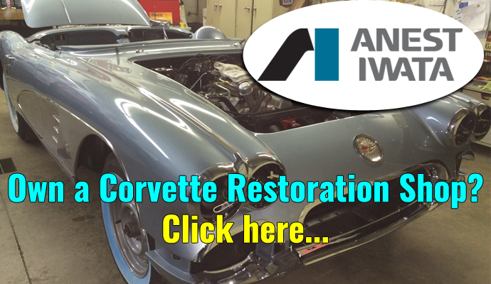 Keen Parts and Anest Iwata are looking for a few Corvette Restoration Shops