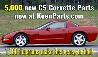 Keen Parts adds 5,000 C5 Corvette parts!