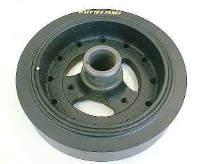 1969-1980 Corvette Harmonic Balancer - Small Block With High Performance (8 Inch)