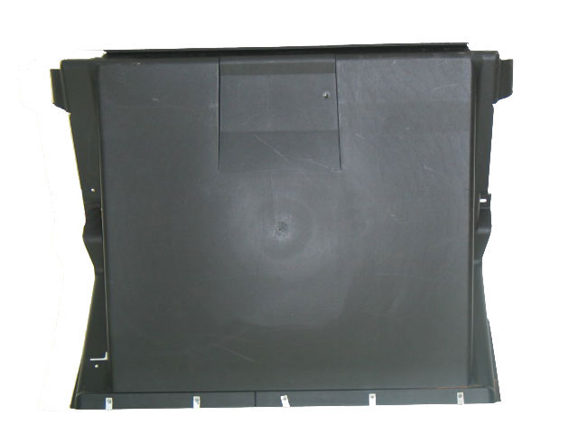 1997-2004 Corvette Radiator Support Fan Shroud Lower Cover. This Is The Panel That Is Cut When Installing After Market