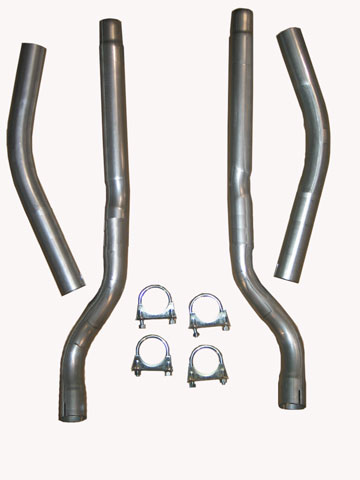 1956-1958 Corvette Exhaust Tail Pipe Set