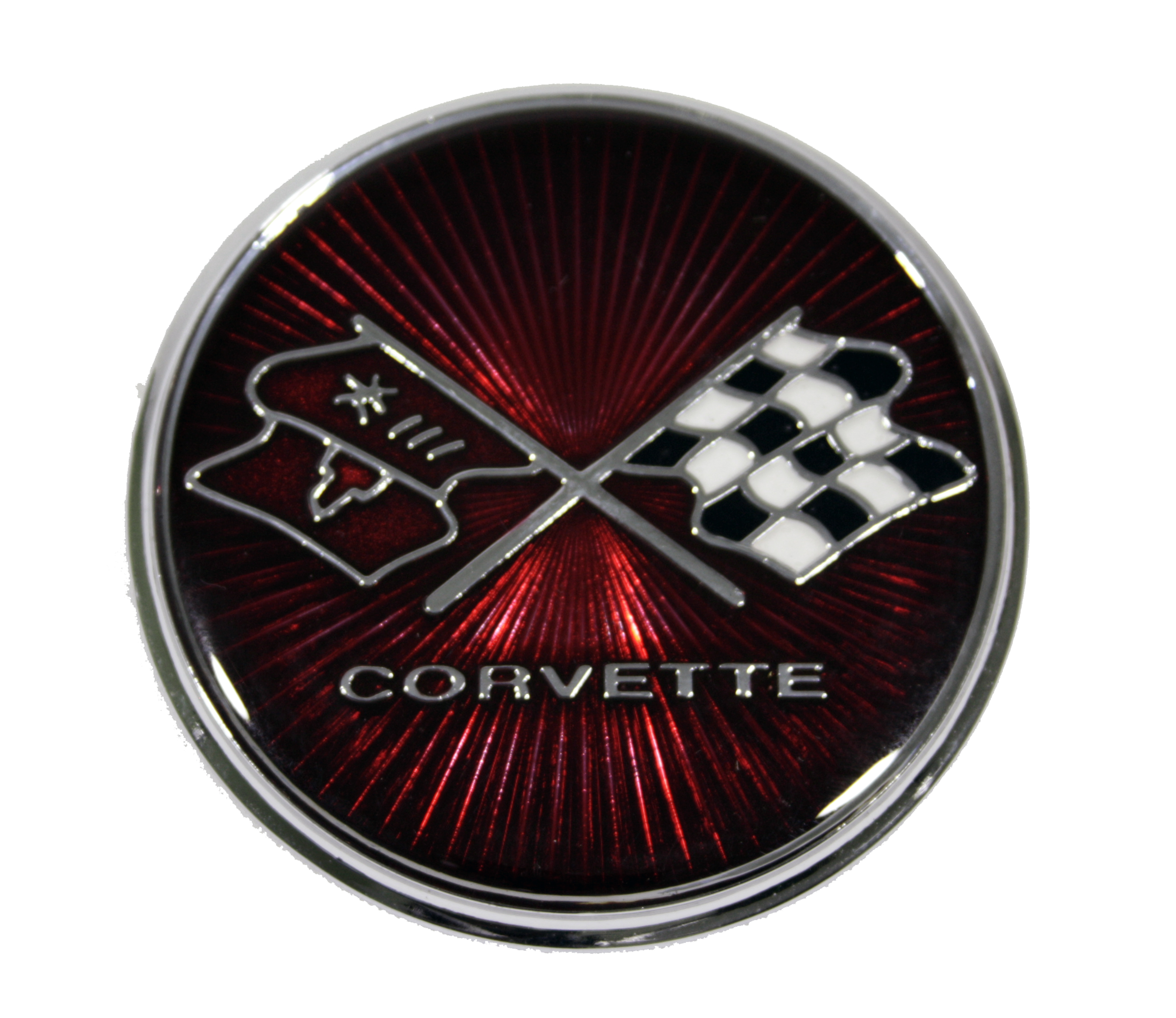 1975-1976 Corvette Gas Door Emblem