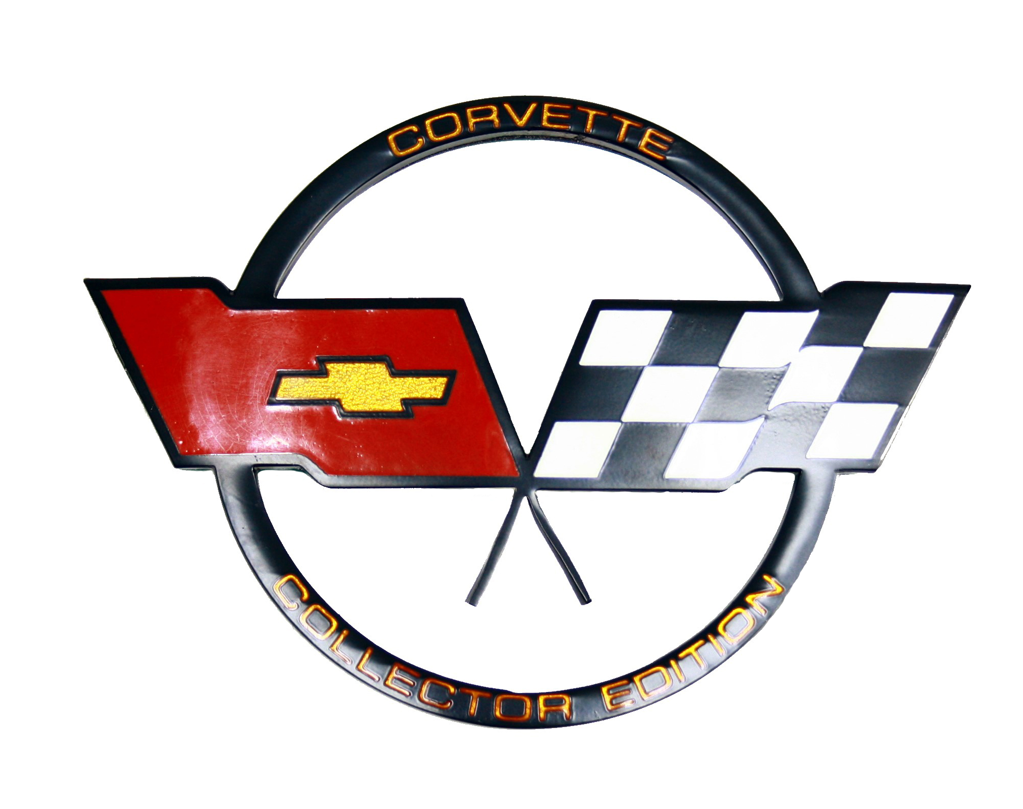1982 Corvette Gas Door Emblem - Collectors Edition