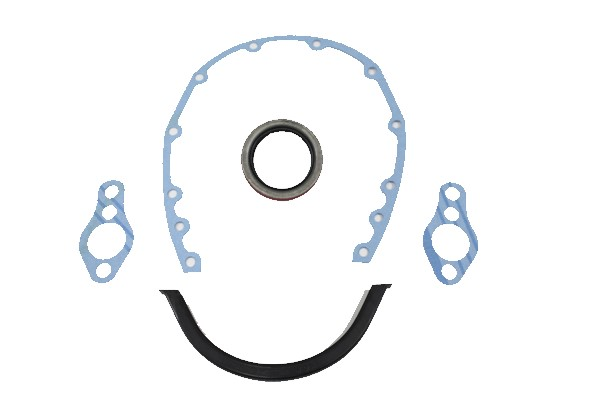 1975-1991 Corvette Timing Chain Cover Gasket Set - Small Block