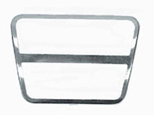 Corvette Brake Or Clutch Pedal Pad - Stainless Steel Trim