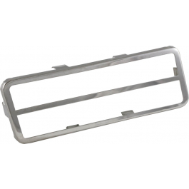 Corvette Gas Pedal Trim - Stainless Steel