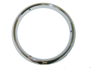 Corvette Headlight Bezel - Pair (chrome)