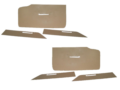 1956-1957 Corvette Door Panel Cardboard - Pair