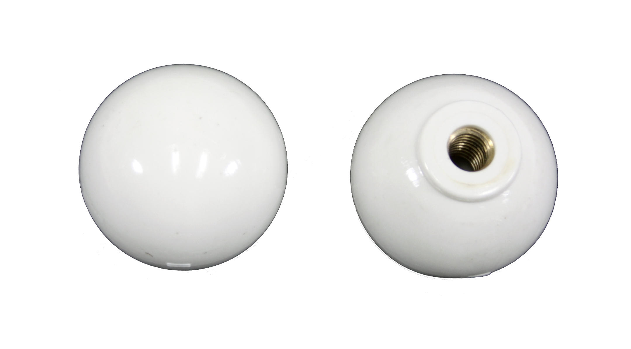 Corvette Door Knob - Pair (white)