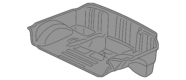 1997-2004 Corvette Rear Compartment Floor Panel Kit