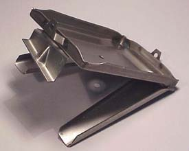 1953-1962 Corvette Battery Tray With Support