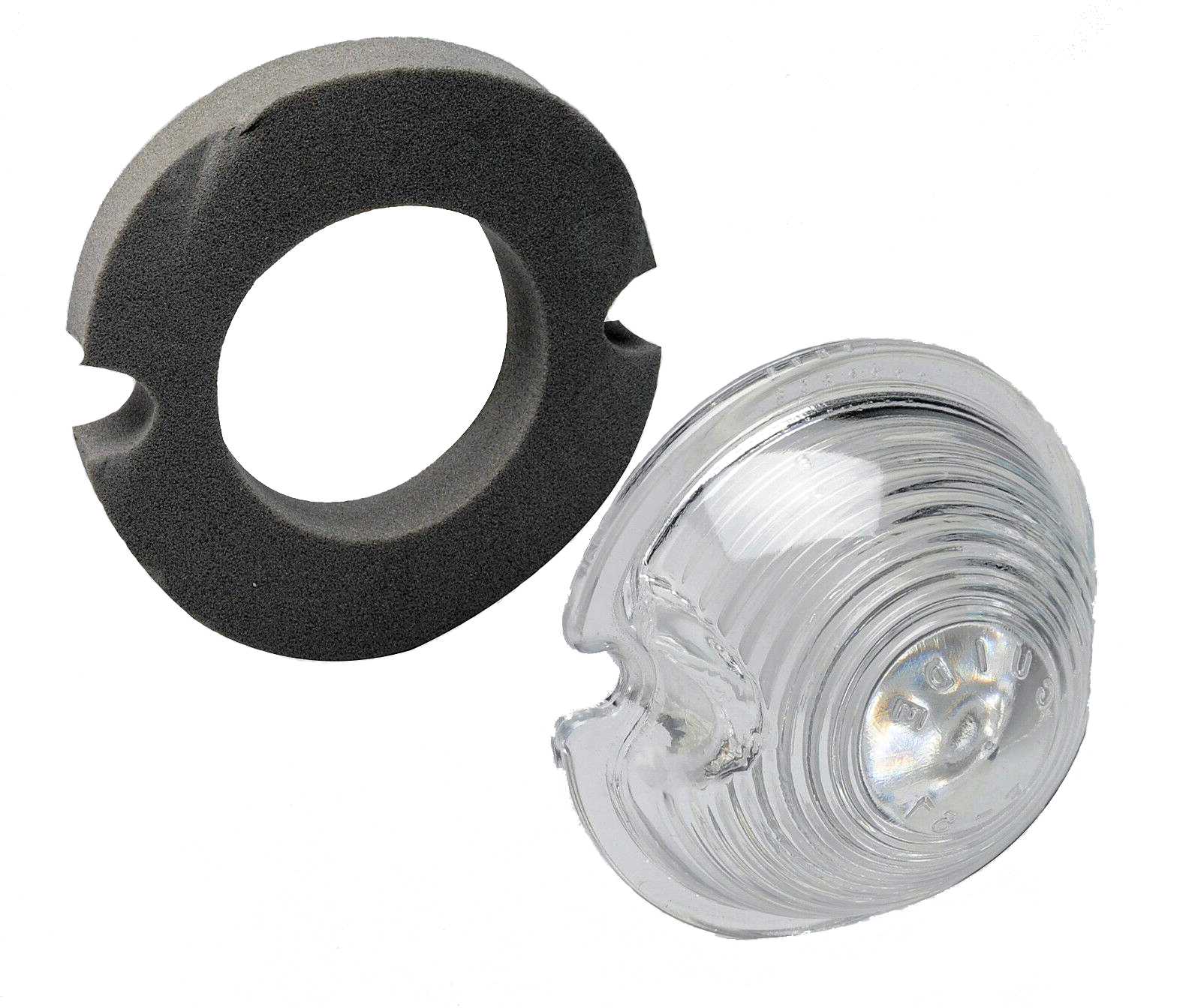Corvette Parking Light Lens With Gasket