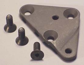 Corvette 4 Speed Shifter Mount Plate With Screw (3 Screws)