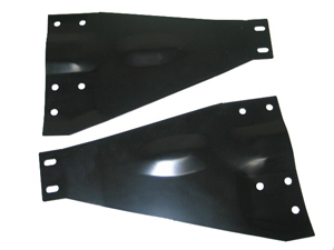Corvette Softtop Bracket Support Plate - Pair