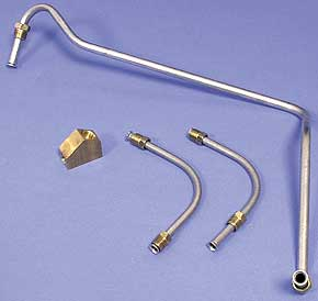 Corvette Fuel Line - Pump To Carburetor Lt-1 With Y Block