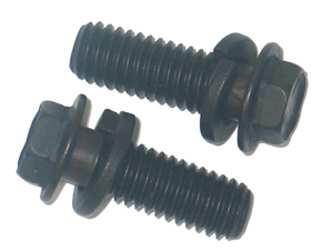 Corvette Fuel Pump Bolt - Pair Big Block (black) 65-74