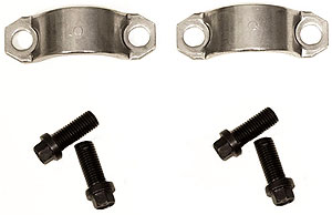 1980-1998 Corvette U-joint Retainer Strap With Bolts