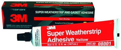 1953-2020 Corvette 3m Weatherstrip Adhesive (yellow)