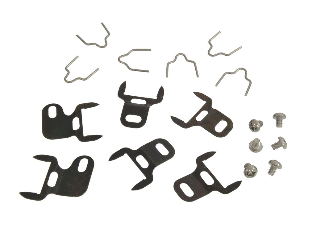 1961-1962 Corvette Door Post Weatherstrip Clips  (18 Pcs)