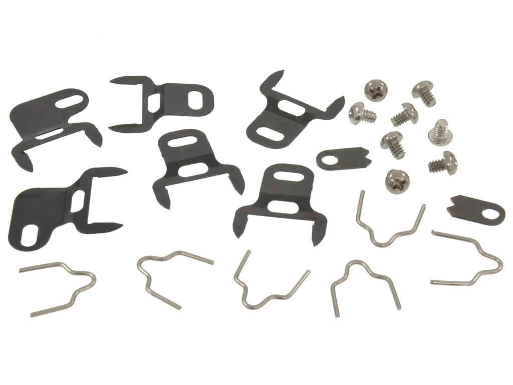 1959-1960 Corvette Door Post Weatherstrip Clips (22 Pcs Set)