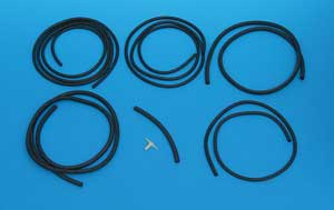 1962 Corvette Washer Hose Set With Fuel Injection