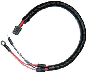 1979 Corvette Starter Motor Extension Harness for Vettes Without AC