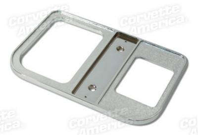 1959-1962 Corvette Shifter Console Plate - 4 Speed