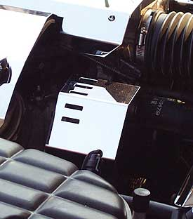 Corvette C5 97-04 BELT TENSIONER POLISHED STAINLESS COVER