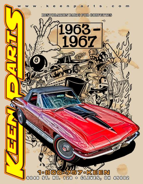 1978-1981 Corvette Hood Release Cable-Top Shield Clip