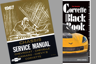 Corvette Books & Manuals