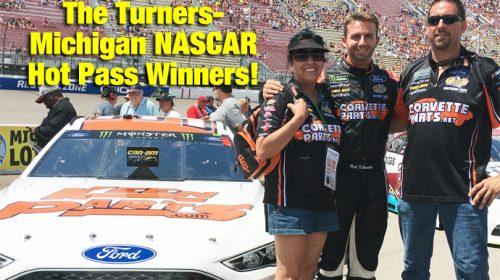 Turner Family Wins NASCAR Race Hot Passes